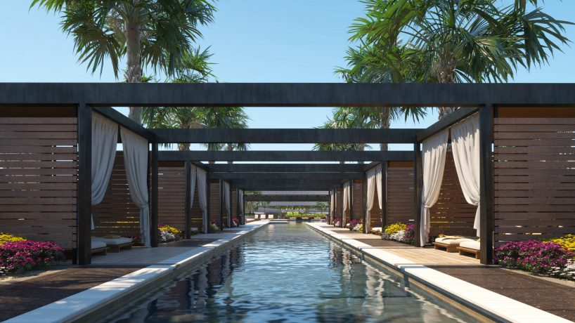 Resort Pool Concept
